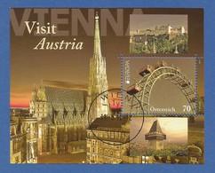 Österreich / Austria 2012  Mi.Nr. Block 69 (2995) , EUROPA CEPT Visite / Besuche - Gestempelt / Used / (o) - Europa-CEPT