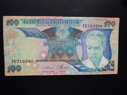 TANZANIE : 100 SHILINGI   ND 1986    P 14a     TTB - Tanzania