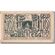 Billet, Autriche, Wolfsegg, 10 Heller, Loup 1922-01-01, SPL Mehl:FS 1250II - Autriche