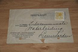 63-    BEDRIJFSKAART KON. NED. LOOD EN ZINKPLETTERIJEN Voorheen A.D. HAMBURGER - UTRECHT - 1925 - Autres