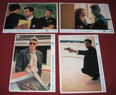 Richard Gere INTERNAL AFFAIRS Andy Garcia 4x Yugoslavian Lobby Cards - Foto's
