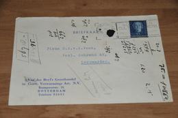 66-    BEDRIJFSKAART VAN DER BEYL'S GROOTHANDEL - ROTTERDAM - 1953 - Kaarten