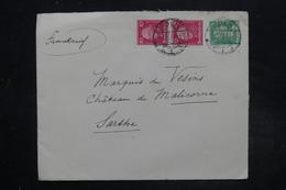 ALLEMAGNE - Enveloppe De Köln Pour La France En 1927 , Affranchissement Plaisant - L 27234 - Deutschland