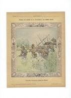 NAPOLÉON Armée Française Passe La Piave Autriche TYROL   Protège-cahier Bien +/- 1900 3 Scans - Protège-cahiers