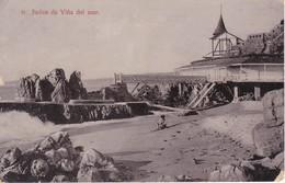 31 POSTAL DE VIÑA DEL MAR DE LOS BAÑOS DEL AÑO 1911 (CHILE) RACHITOLF - Chile