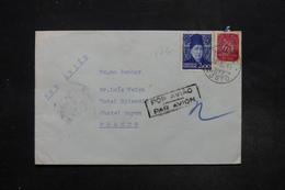 PORTUGAL - Enveloppe De Porto Pour La France En 1949 , Affranchissement Plaisant - L 27236 - 1910-... République