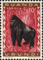 MINT  Ruanda-Urundi - Fauna -  1959 - Ruanda-Urundi