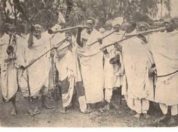 AFRICA ORIENTALE - SUONATORI DI MELEQUET ED IMBELTA' - Etiopia
