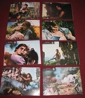 Richard Young FINAL MISSION Jason Ross 8x Yugoslavian Lobby Cards - Foto's