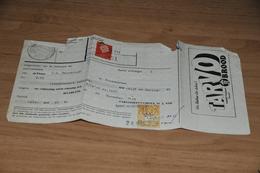 60-    REKENING, TARVOMEELFABRIEK M.J. VOS - HAARLEM - 1959 - Nederland