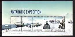 2012 Antarctique Australien Neuf** Bf N° 11 Exploration Polaire : Bateau : Chien De Traineau - Australisches Antarktis-Territorium (AAT)