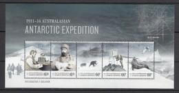 2013 Antarctique Australien Neuf** Bf N° 13 Exploration Polaire : Anénomètre : Phoque : Damier Du Cap : Oiseau - Australisches Antarktis-Territorium (AAT)