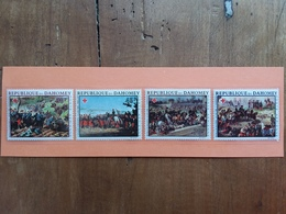 DAHOMEY - Croce Rossa - Quadri Completa - Nuovi ** + Spese Postali - Benin – Dahomey (1960-...)