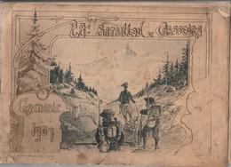 28 Eme BATAILLON DE CHASSEURS Grenoble 1907 - Régiments