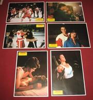 Rob Lowe YOUNGBLOOD Cynthia Gibb - 6x Yugoslavian Lobby Cards - Photographs
