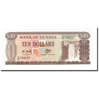 Billet, Guyana, 10 Dollars, Undated (1992), KM:23f, NEUF - Guyana
