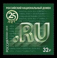 Russia 2019 Mih. 2680 Internet Country Code Top-Level Domain .ru MNH ** - 1992-.... Fédération