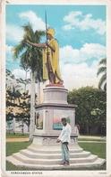 POSTAL DE HONOLULU DE LA ESTATUA DE KAMEHAMEHA (HAWAII) - Honolulu