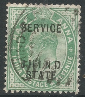 Jind State(India). 1907 KEVII Official, ½a Used. SGO33 - Jhind
