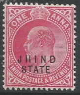 Jind State(India). 1907-09 KEVII, 1a MH. SG57 - Jhind