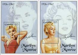 Ref. 367038 * NEW *  - GAMBIA . 1995. MARILYN MONROE 1926-1962. MARILYN MONROE 1926-1962 - Gambia (1965-...)