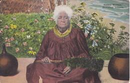 POSTAL DE HONOLULU DE A NATIVE WOMAN  (HAWAII) - Honolulu