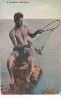 POSTAL DE HONOLULU DE A HAWAIIAN FISHERMAN (HAWAII) PESCADOR - Honolulu