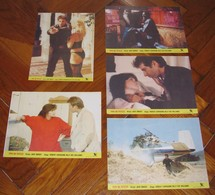 Robert Carradine NUMBER ONE WITH A BULLET Billy Dee Williams 5x Yugoslavian Lobby Cards - Photographs