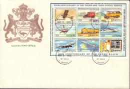 Ref. 566026 * NEW *  - GUYANA . 1990. 150th ANNIVERSARY OF THE STAMP. 500th ANNIVERSARY OF THE POSTAL ADMINISTRATION. 15 - Guyana (1966-...)