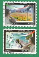 Italien / Italia  2012  Mi.Nr. 3536 / 37 , EUROPA CEPT Visite / Besuche - Selbstklebend - Gestempelt / Used / (o) - Europa-CEPT