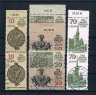 DDR 1986 750 Jahre Berlin Mi.Nr. 3023/26 Kpl. Satz ** + Gestempelt - [6] République Démocratique