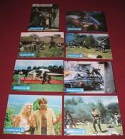 Robert Ginty MISSION KILL Cameron Mitchell 8x Yugoslavian Lobby Cards - Photographs