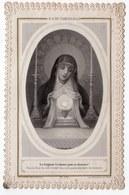 LE SEIGNEUR L A CHOISI POUR SA DEMEURE   CANIVET XIXéme - Devotion Images