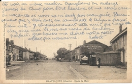 *GRAVELOTTE. ROUTE DE METZ - Otros Municipios