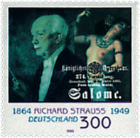 Ref. 49809 * NEW *  - GERMAN FEDERAL REPUBLIC . 1999. 50th ANNIVERSARY OF THE DEATH OF THE COMPOSER RICHARD STRAUSS. 50 - [7] República Federal