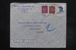 PORTUGAL - Enveloppe Commerciale De Lisbonne Pour La France En 1947 , Affranchissement Plaisant  - L 27267 - 1910-... République