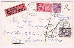 Schweiz 70cts. Mi 540 Als Nachporto Auf Brief Aus Italien; 4437 - Portomarken