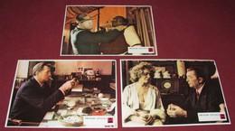Robert Mitchum FAREWELL, MY LOVELY Charlotte Rampling -  3x Yugoslavian Lobby Cards - Photographs