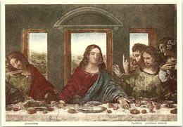 Art - Dettaglio Del Cenacolo, The Last Supper, Leonardo Da Vinci, No. 1319 - Peintures & Tableaux
