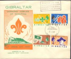 Ref. 376246 * NEW *  - GIBRALTAR . 1968. 60th ANNIVERSARY OF SCOUTS IN GIBRALTAR. 60 ANIVERSARIO DEL ESCULTISMO EN GIBRA - Gibraltar