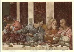 Art - Dettaglio Del Cenacolo, The Last Supper, Leonardo Da Vinci, No. 1320 - Peintures & Tableaux