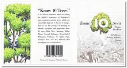 Singapore 2010, Postfris MNH, Trees ( Booklet ) - Singapore (1959-...)