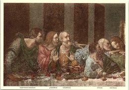 Art - Dettaglio Del Cenacolo, The Last Supper, Leonardo Da Vinci, No. 1318 - Pittura & Quadri