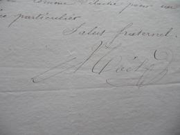 19/04/1848 Garde Nationale De Paris 9ème Légion  LAS Autographe Affectation - Documents