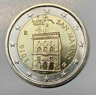 2 EURO SAN MARINO 2016 - PALAZZO REPUBBLICA - EURO