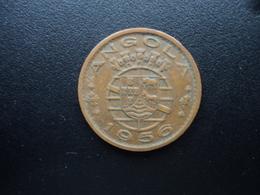 ANGOLA : 1 ESCUDO  1956    KM 76     TTB - Angola