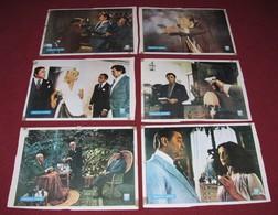 Robert Mitchum THE BIG SLEEP Sarah Miles - 6x Yugoslavian Lobby Cards - Photographs