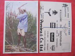 CPSM - TRINIDAD  - WELCOME TO TRININIDAD - PEREIRA & CO LTD - INDIAN LABOURER CUT TIGO CANE - Trinidad
