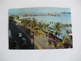 Postcard Postal Guine Bissau Vista Ponte-Cais Bissau - Guinea-Bissau
