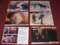 Robert Redford ELECTRIC HORSEMAN Jane Fonda - 5x Yugoslavian Lobby Cards - Foto's
